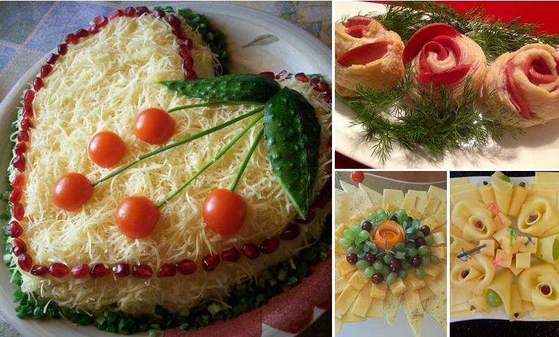 dekorēt ēdienu
