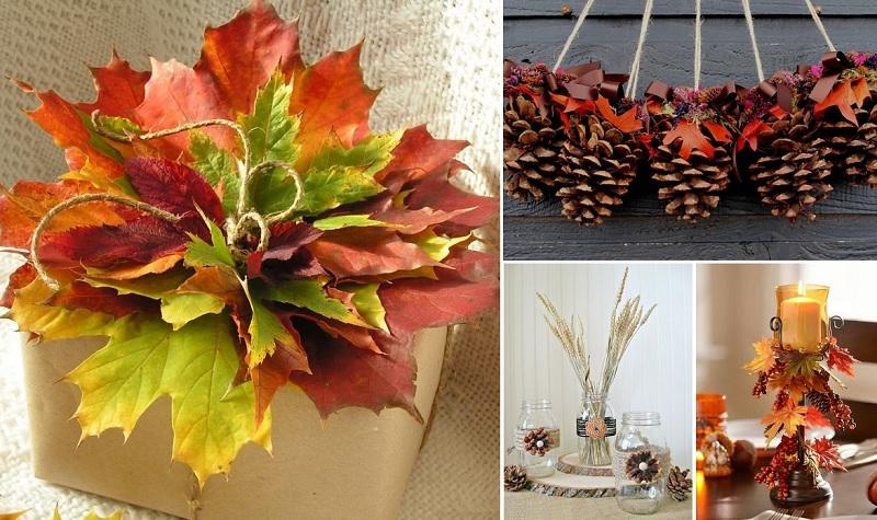 rudens dekorācija