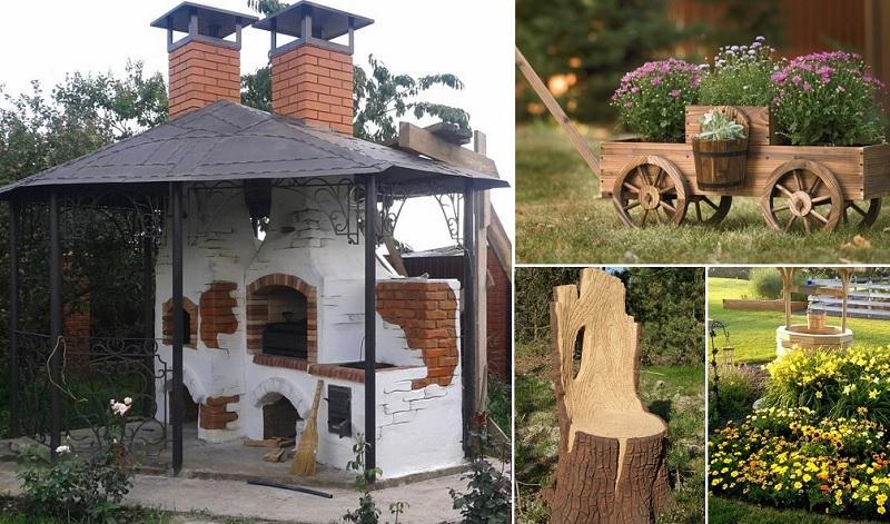 idejas dārza dizains