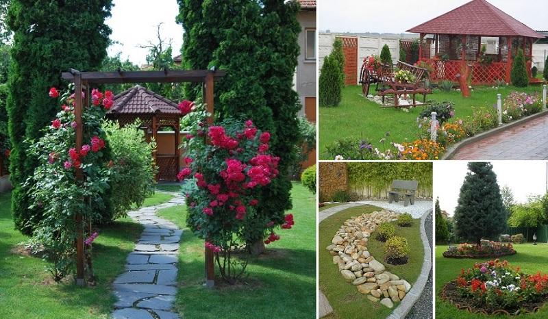dārziem un pagalmam