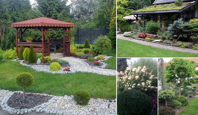 idejas dārzu iekārtošanā