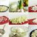 Baltie salāti ar šķiņķi un mārrutkiem